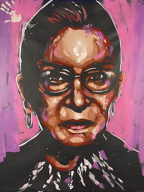Ruth Bader Ginsburg 62x52