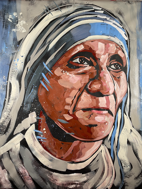 Mother Teresa 62x52
