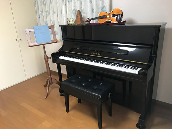 ヴァイオリン・ピアノ教室ブルンネン