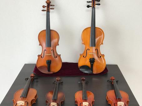 ♪体験用ヴァイオリン
