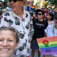 At Pride with Two Spirit Society