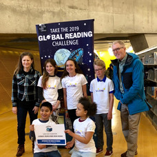 2019 Global Reading Challenge Coach for Sand Point Elementary, placed 2nd in Regionals.