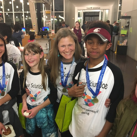 2018 Global Reading Challenge 2nd place District-wide