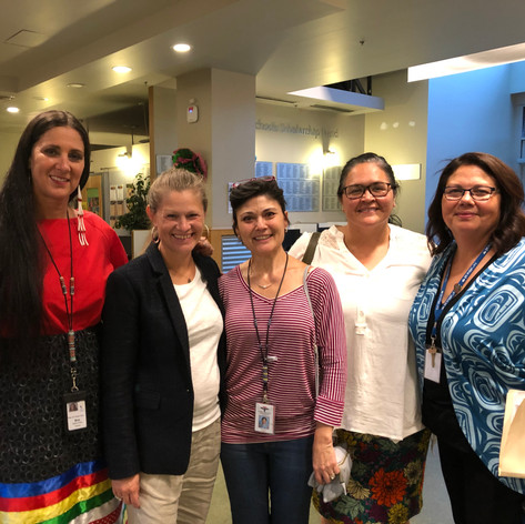 Adoption of Since Time Immemorial Curriculum in Seattle Public Schools, with SPS Native Education Staff and STI Primary Author Shana Brown, Director Gail Morris