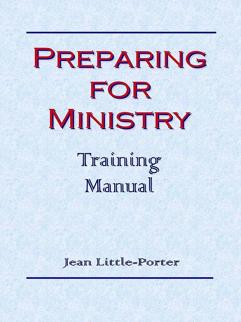 Preparing For Ministry Training Manual