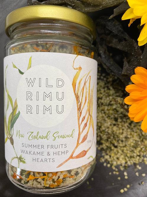 Wild Rimurimu Summer Fruits Wakame and Hemp Hearts 150g