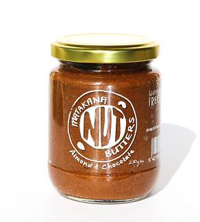 almond, chocolate, nut butter