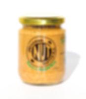 peanut butter, with manuka honey