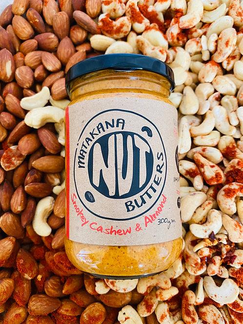 Matakana Nut Butters Smokey Cashew & Almond 300g