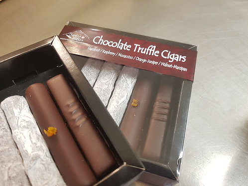 Swiss Bliss Chocolate Truffle Cigars 6pk