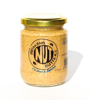 cashew, almond, nut butter