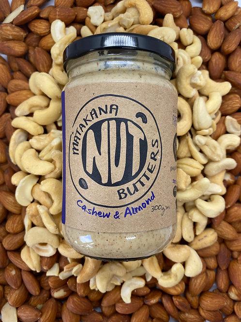 Matakana Nut Butters Cashew & Almond 300g