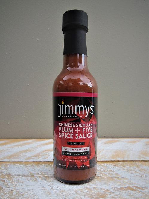 Jimmys Craft Foods Chinese Sichuan Plum + Five Spice Sauce - Original