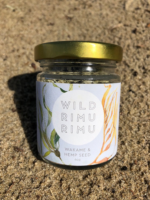 Wild Rimurimu Wakame and hempseed 60gm