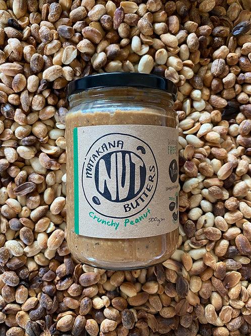 Matakana Nut Butters Crunchy Peanut Butter 500g