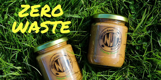 handmade nut butters, zero waste