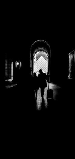 Le Louvre Silhouette