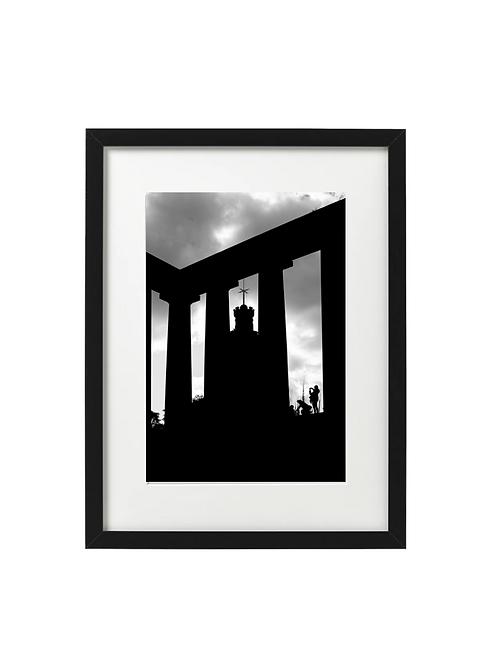 Carlton Hill, Edinburgh - City Silhouettes