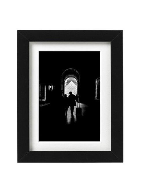 Le Louvre - Silhouette