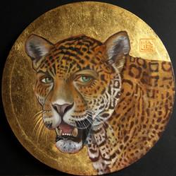 Self Portrait with Jaguar