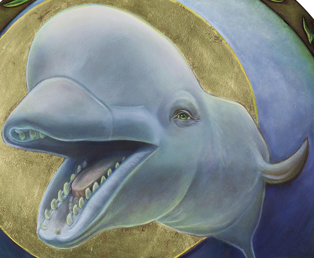 detail of Beluga