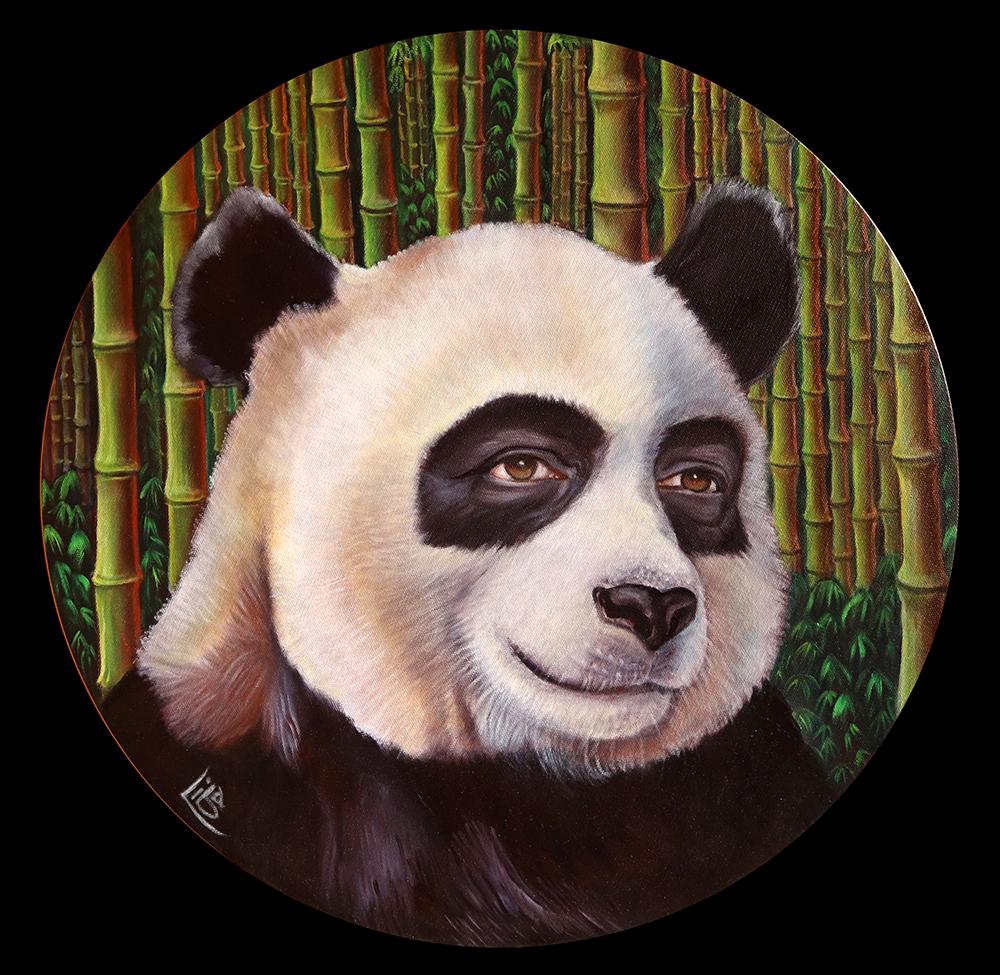 Stephan and his Panda