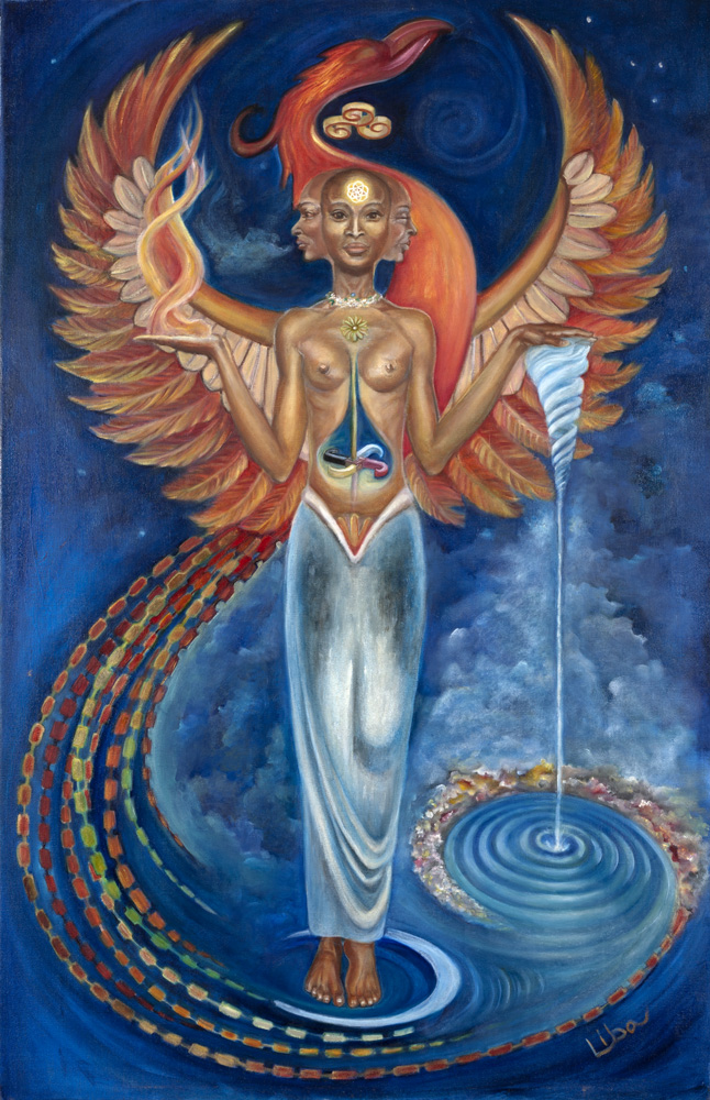The Goddess as Maiden - Incarnation