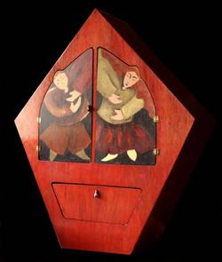 Dancing cabinet