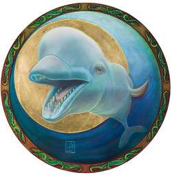 Self Portrait with Beluga