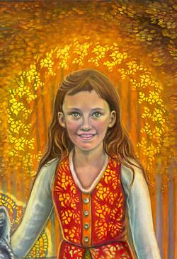 Birch princess detail