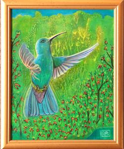 Maya hummingbird 2020