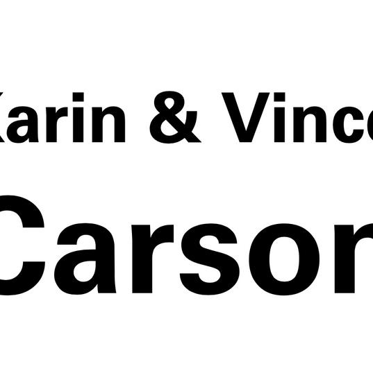 Karin and Vince Carson