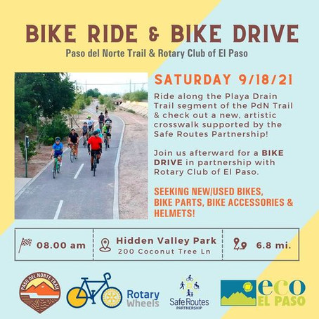 Bike Ride & Drive