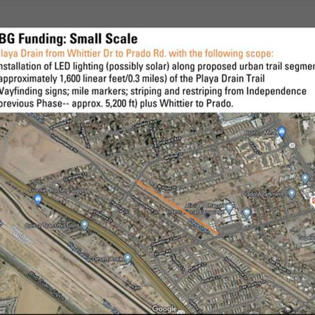 City Council seeking feedback on Paso del Norte Trail development funds