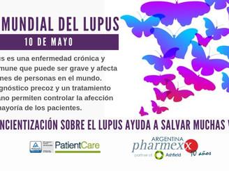 Día Mundial del Lupus. La concientización ayuda a salvar muchas vidas.