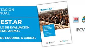 El IPCVA y el INTA presentaron el protocolo de evaluación de bienestar animal en engorde a corral