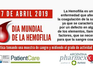 Concientización, el primer paso para el diagnóstico y el tratamiento eficaz de la hemofilia.