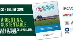 """Se presentó el informe """"Carne Argentina, Carne Sustentable"""""""