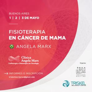 FISIOTERAPIA EN CÁNCER DE MAMA | Dra. ANGELA MARX