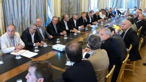 Macri se reunió con la Mesa de las Carnes