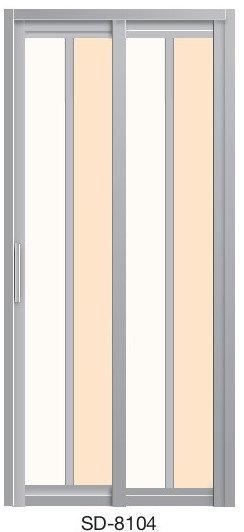 Slide & Swing Door SD-8104