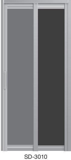Slide & Swing Toilet Door SD-3010