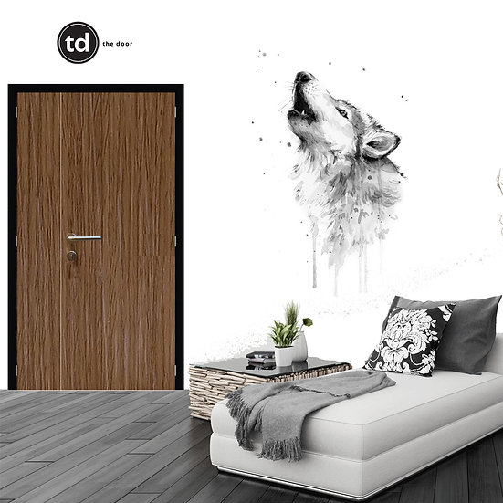 Laminate Main Door- TD11 Simple Brown