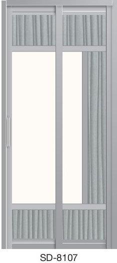 Slide & Swing Door SD-8107