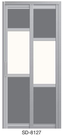 Slide & Swing Door SD-8127