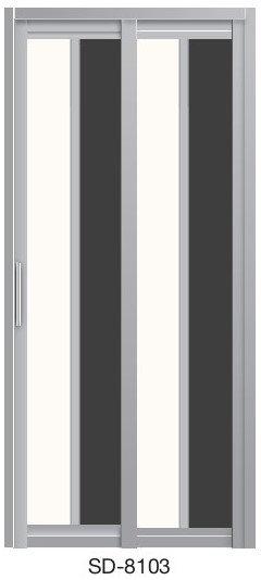 Slide & Swing Door SD-8103