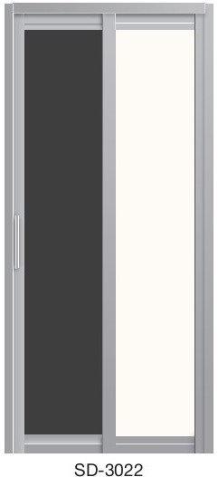 Slide & Swing Toilet Door SD-3022