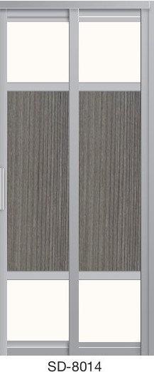 Slide & Swing Toilet Door SD-8014