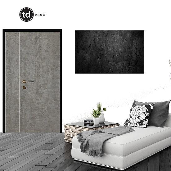Laminate Main Door- TD17 Dark Concrete