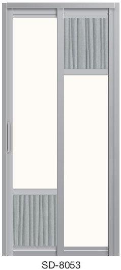 Slide & Swing Toilet Door SD-8053